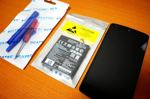 NEXUS5  バッテリー交換