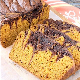 Marbled Pumpkin Chocolate Bread