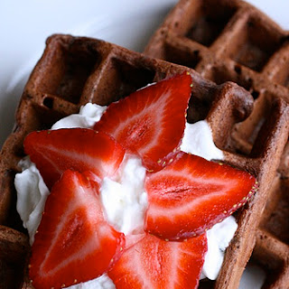 Chocolate Waffles.