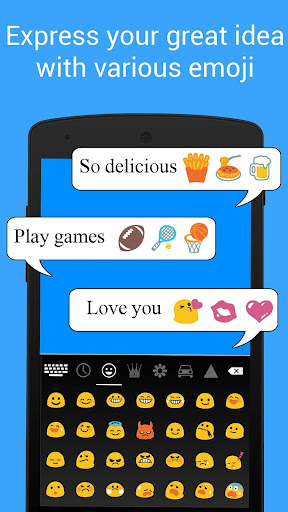Smart Emoji Keyboard-Emoticons for PC