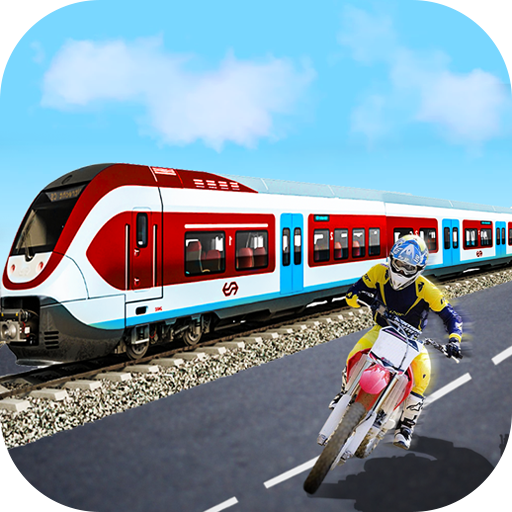 Trail Bike Vs Train Race