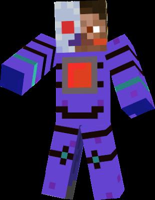 steve para derrotar a herobrine a crafteado un traje de metal que un super laser suyo podria destruir una aldea junto a una montaña sin dejar ningin bloque.