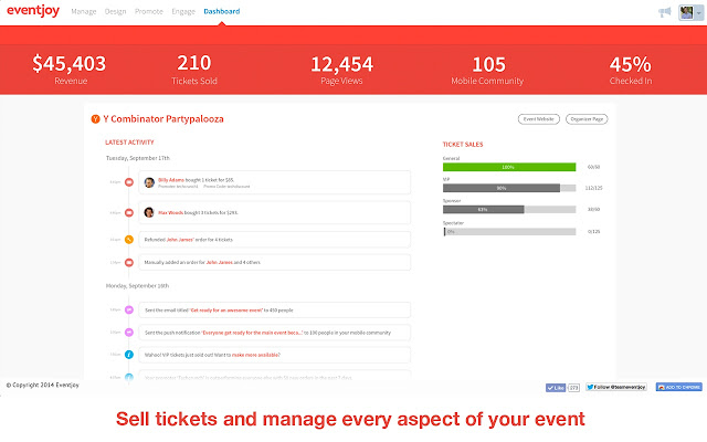 Eventjoy: Free event ticketing & registration