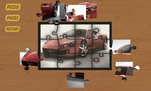 Jigsaw Puzzle Car