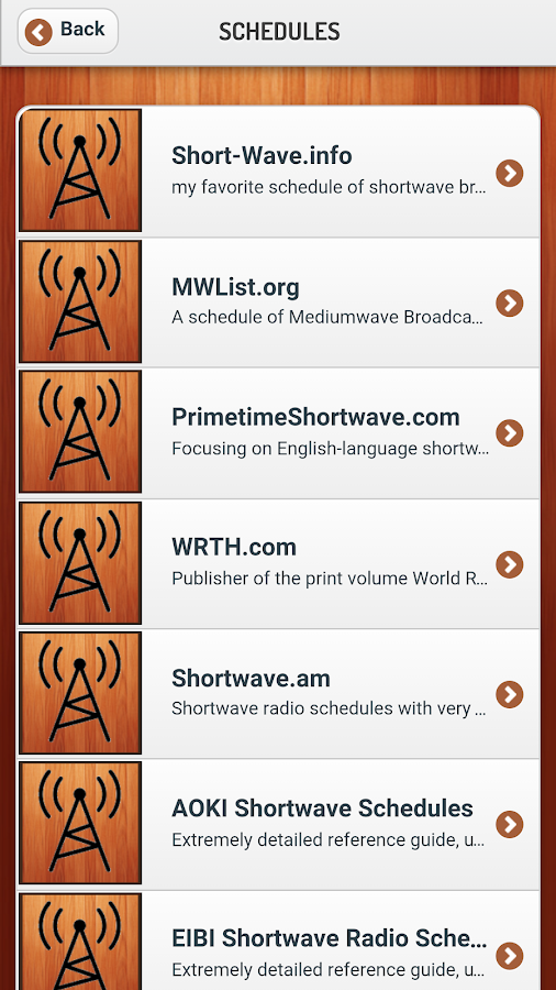 ShortwaveAllwaveRadioToolsFree- screenshot