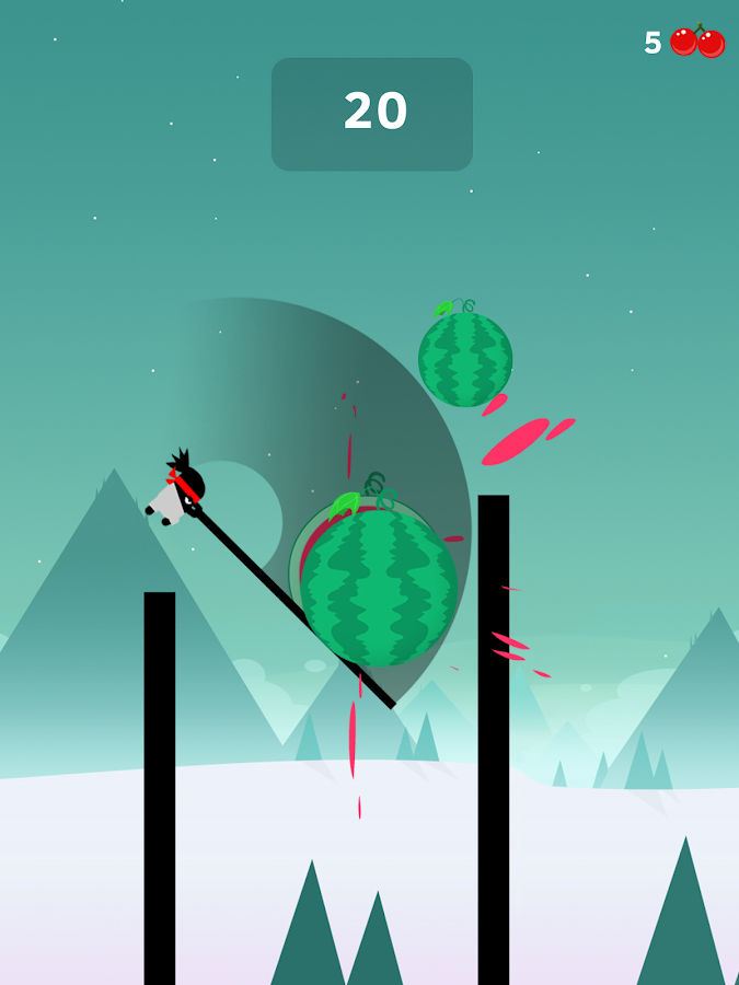 Screenshots of Stick Hero for iPhone