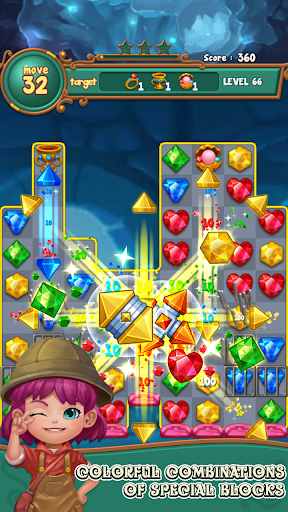 Jewels fantasy : match 3 puzzle 1.0.34 3