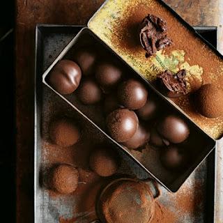 Chocolate Caramel Truffles.