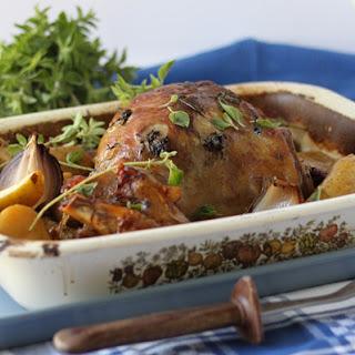 Slow Roasted Greek Lamb