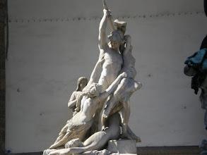 Photo: Rape of the Sabine Women