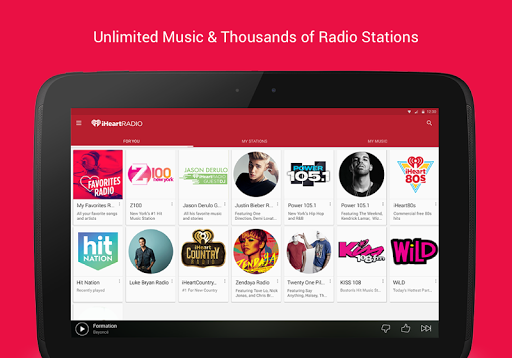iHeartRadio Free Music & Radio screenshot 7