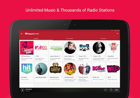 iHeartRadio Free Music & Radio screenshot 06
