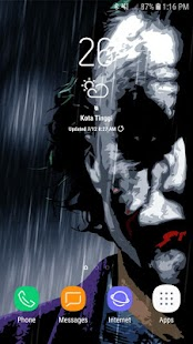 Animated Joker Live Wallpaper Screenshot
