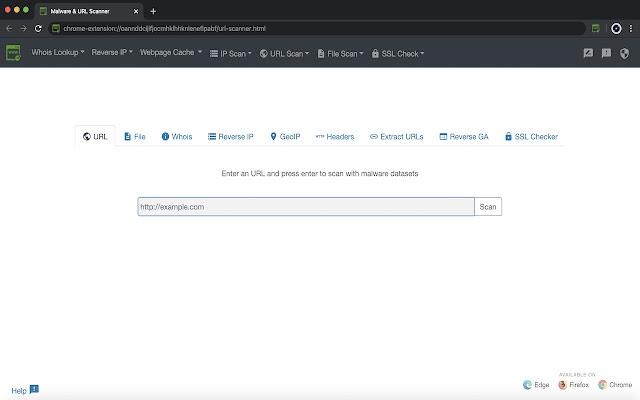 Malware & URL Scanner