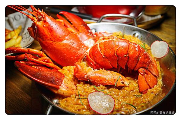 龍波斯特 lobster.foods 南京龍江創始店 ~ 台北最狂龍蝦主題餐廳/藝人也瘋狂❤️龍蝦三明治/法式龍蝦燉飯 - 捷運南京復興站