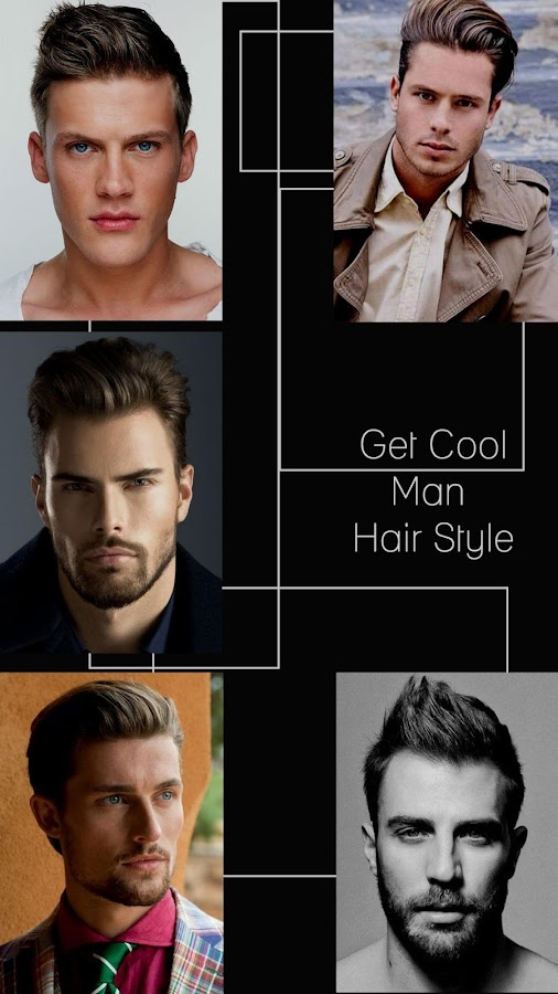 Enjoyable Man39S Hairstyle Changer Android Apps On Google Play Hairstyles For Women Draintrainus