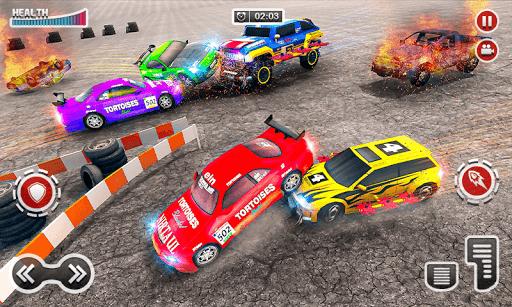 Demolition Car Derby Stunt 2020: New Car Game 2k20 apktram screenshots 5