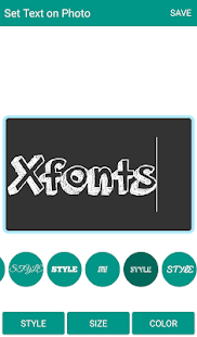 Xfonts ( best fonts ) - náhled