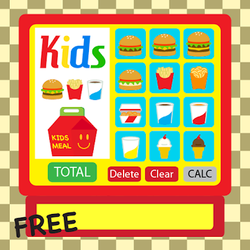 Kids Burger Cash Register Free