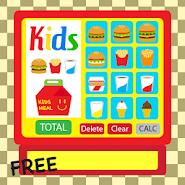 Kids Burger Cash Register Free APK icon