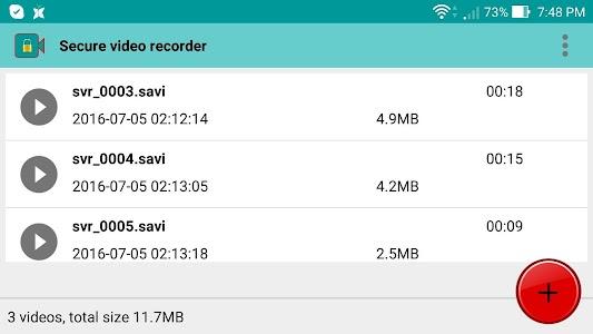 Secure Video Recorder v1.0.3