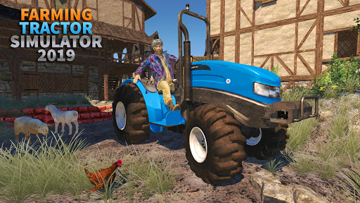 Tractor Farming Simulator - Big Farm Tractor Games apkmr screenshots 1