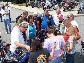 Photo: Blessing Bobby Clark's Bike