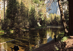 Photo: Merced River.  A more secluded area. Reflections vs shadows. #2774