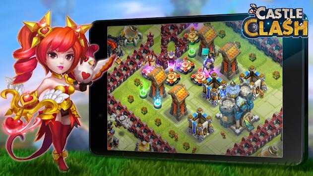 Schloss Konflikt: Castle Clash apk screenshot