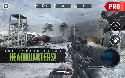 Call of Sniper Pro Apk: World War 2 Sniper Games 2