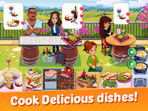 Delicious World - Romantic Cooking Game apkmr screenshots 10