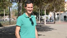 Jordi Portolés Peramo, en Almería