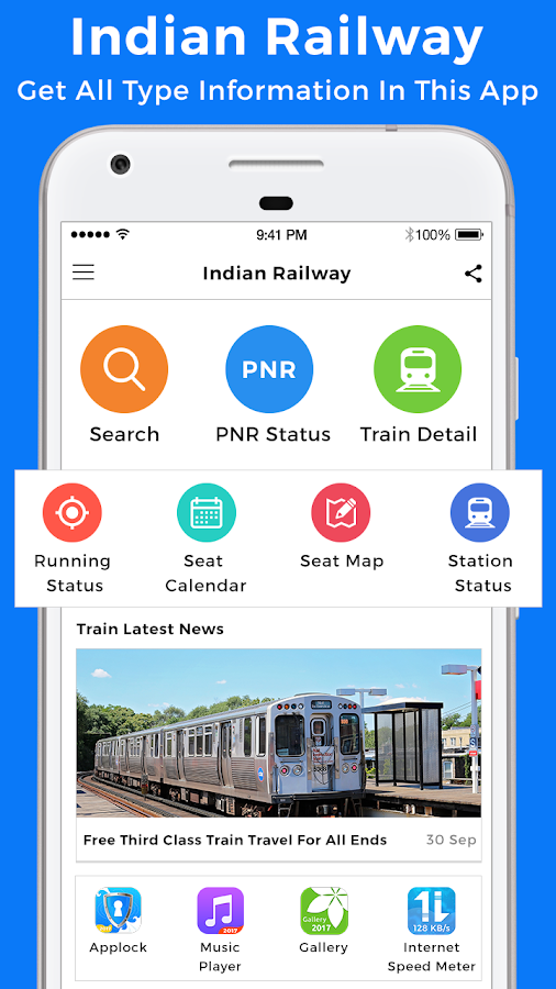 Train Seat Availability Indian Railway Android Apps On