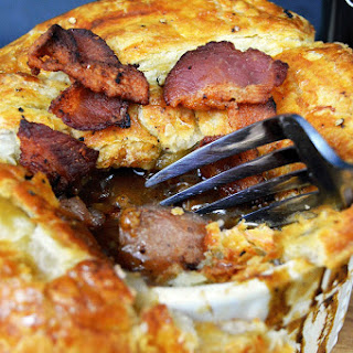 Irish Meat and Potato Pie.