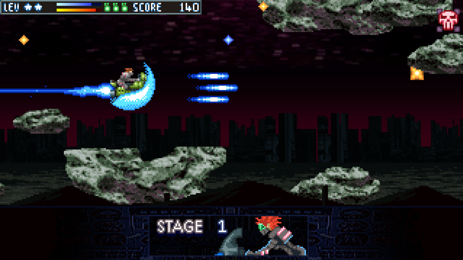 Astro Rider- screenshot