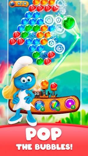 Smurfs Bubble Shooter Story screenshots 3