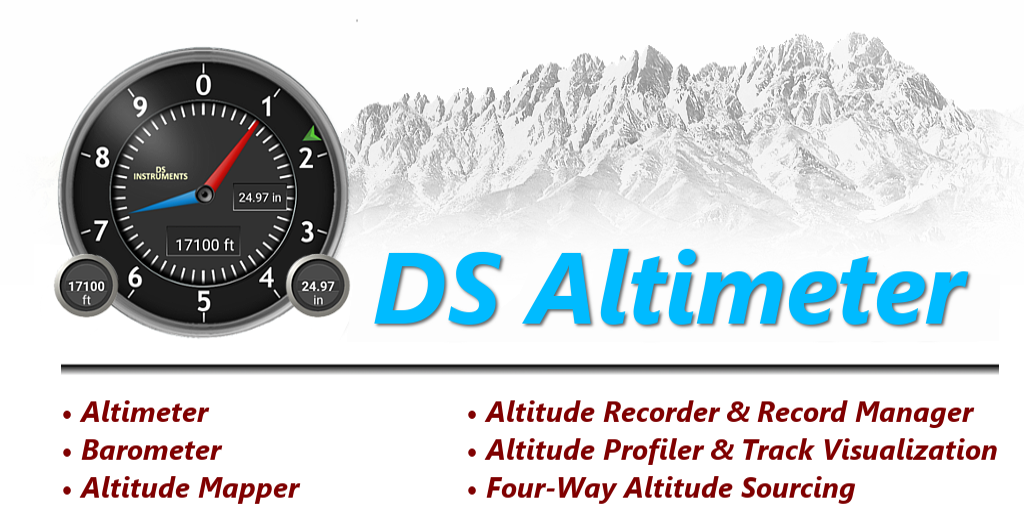 DS Altimeter + Recorder- screenshot