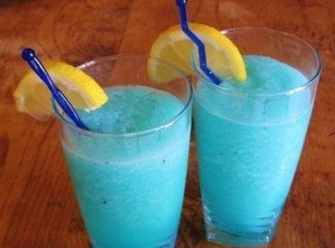 Blue Raspberry Lemonade Slushy Recipe