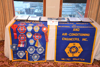 Photo: NB/PEI Chapter history display