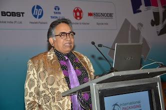 Photo: Shombit Sengupta, Founder Chairman, Shining Consulting addressing the audience