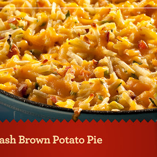 Hash Brown Potato Pie