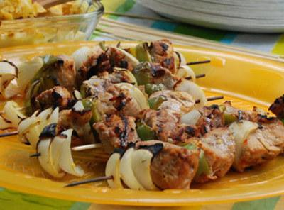 Grilled Pork Tenderloin Kabobs Recipe