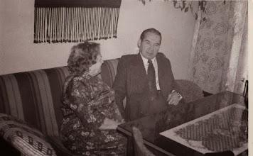 Photo: Stanisław Skowron z żoną.  Zdjęcie udostępnił ks. Paweł Skowron.