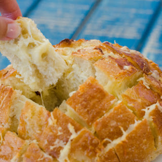 Pull Apart Cheese Bread.