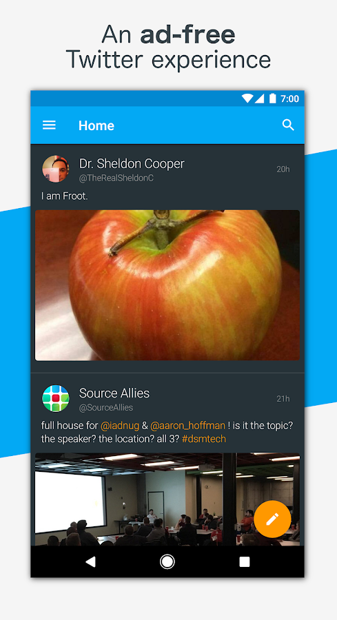 Talon for Twitter- screenshot