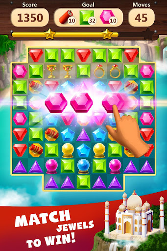 Jewels Planet - Free Match 3 & Puzzle Game screenshots 1