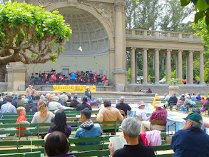 Photo: Band concert in Golden Gate Park