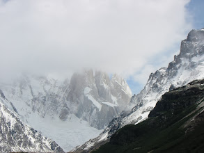 Photo: About the best view we managed of Cerro Torre