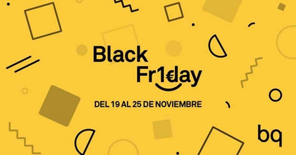 Consigue móviles, tablets o e-readers por sólo 1 euro en el Black Friday de BQ