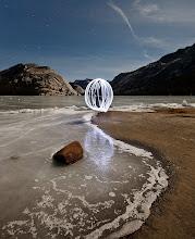 Photo: Icy Night Reflection